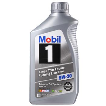 美孚(Mobil) 1号全合成机油 5W-30 A1/B1 1Qt*7瓶 ¥317