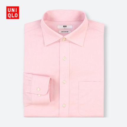 优衣库 高性能防皱衬衫(长袖) 408136 99元包邮