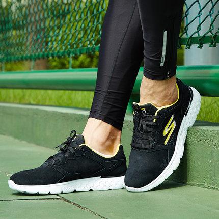 斯凯奇(Skechers) Go Run 400 牛皮面 男轻便减震运动鞋 秋冬应季款 ¥289