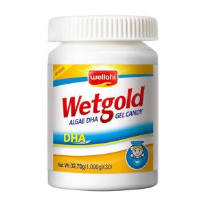 新西兰原装进口 惠优喜 智黄金藻油DHA 60粒 宝宝智力发育 减轻产后郁郁 148元包邮 同款京东368元