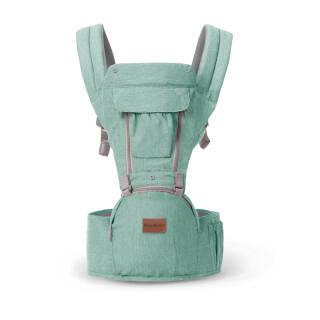 gb好孩子 婴儿背带 透气双肩多功能抱婴腰凳 宝宝四季透气款 水晶绿 P180164 179元
