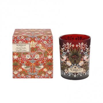 英国小众品牌 Morris & Co Strawberry Thief Scented Candle 香氛蜡烛 240g 亚马逊海外购 7.2折 直邮中国 ¥144.08