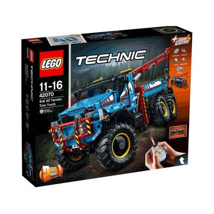 乐高 17科技系列 6X6全时驱动牵引卡车+ 械组伸缩臂工程车 1614.2元包邮包税