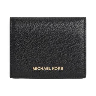 12日0点:MICHAEL KORS 迈克·科尔斯 Mercer 32T7GM9D1L 女士牛皮短款钱包 包税 券后378元包邮