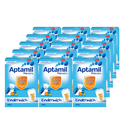 Aptamil 爱他美婴幼儿奶粉 1+600g*15盒 €151.82,约1249元