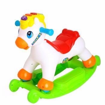 苏宁易购 汇乐玩具 快乐摇马 98799元包邮 已降100元,需用券