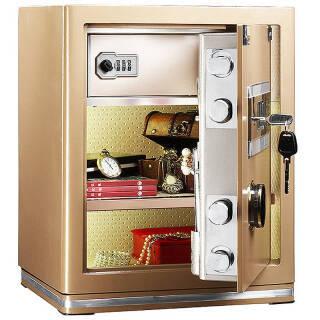 艾谱(AIPU)FDX-A/D-45WG 家用3C认证保险箱 电子保险柜办公 小型入墙 45cm 安全双锁双控 1148元