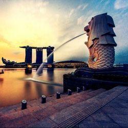 胜安航空 成都直飞新加坡往返含税机票 2114元起