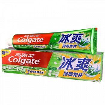 京东商城 Colgate高露洁 冰爽牙膏 180g9.9元 99%好评率
