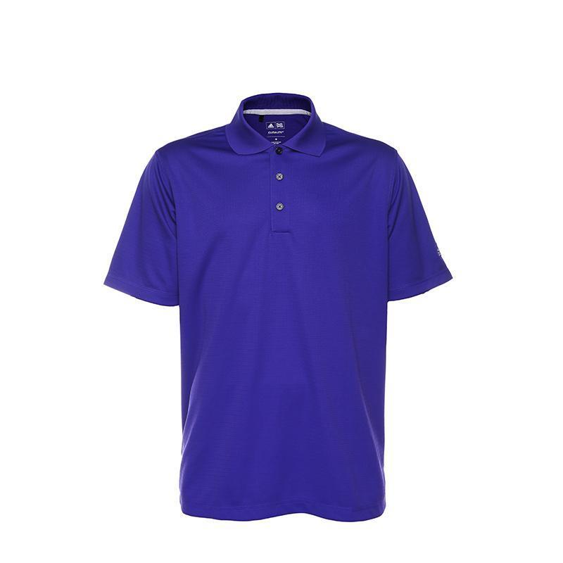 ¥89 adidas阿迪达斯男士速干透气POLO衫紫色