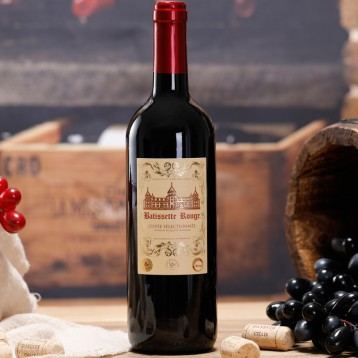 杭州G20峰会供应商!法国原瓶进口 岱特侯爵 干红葡萄酒 750ml 5折 ¥29.9