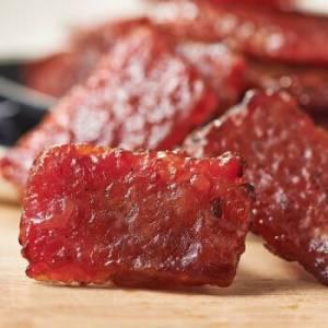 来伊份 肉干肉脯 休闲食品 迷你炭火烤肉250g *12件 101.6元(合8.47元/件)
