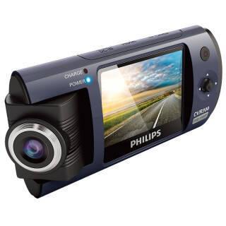 飞利浦(PHILIPS) CVR300行车记录仪 1080P 可旋转镜头  券后399元