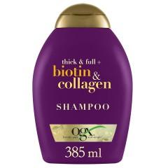 低价!【中亚Prime会员】OGX 生物素胶原蛋白丰盈洗发水 385ml
