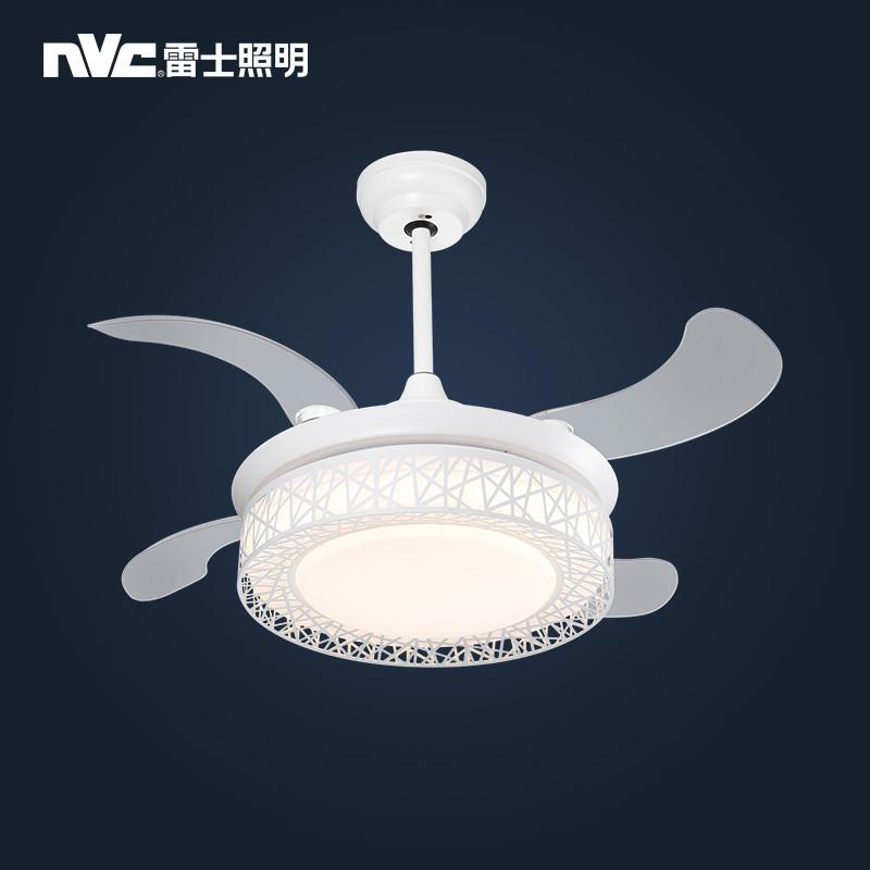 ¥469 nvc-lighting 雷士照明 灵风款 隐形风扇灯 四叶 24瓦