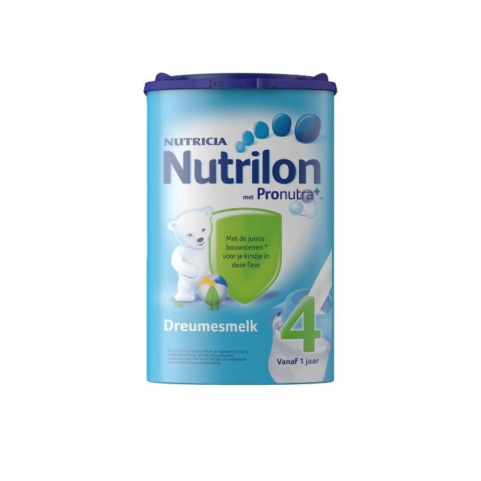 Nutrilon 牛栏 婴幼儿标准配方奶粉 4段 1岁+ 800g 特价€17.99,约140元,可凑单直邮