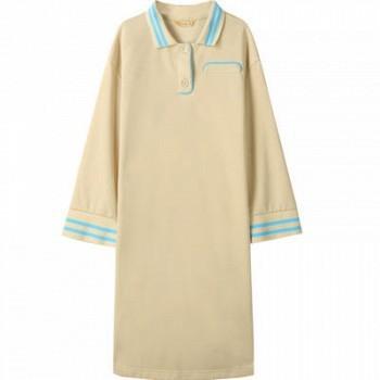 当当网商城 森宿 文艺撞色条纹连衣裙90.7元(已降79.2元)