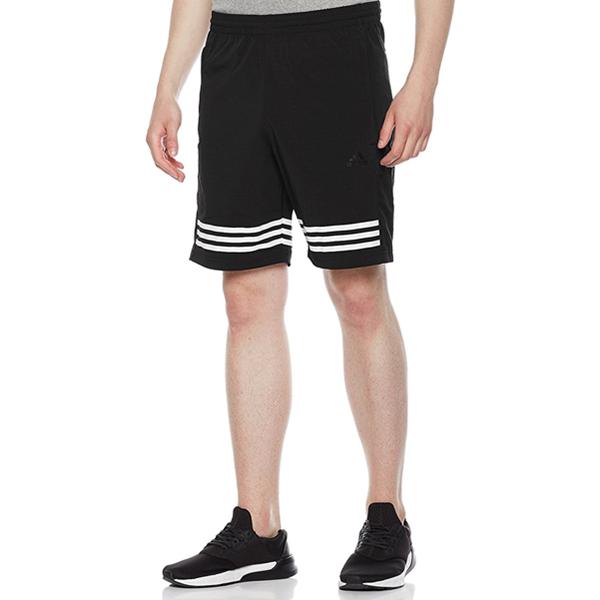 阿迪达斯男式运动型格梭织短裤SHORT WV 3S 219元包邮