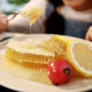 等蜂来 原筑蜂巢蜜 巢蜜蜂蜜400g *2件 113.5元(合56.75元/件)