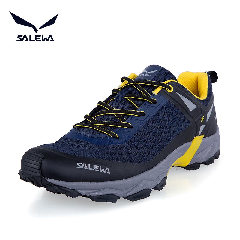 神价格!德国 SALEWA沙乐华 男女户外徒步鞋  299元包邮(专柜价699元)