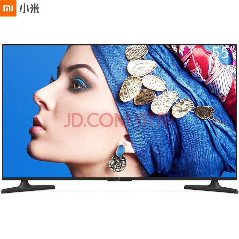 ¥2699 MI 小米 小米电视4A 标准版 55英寸 HDR 2GB 8GB 4K超高清智能语音网络液晶平板电视(L55M5-AZ)