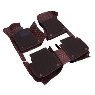 爱绿能(IGEG) 全包围汽车脚垫 双层可拆卸脚垫 绗绣皮革+丝圈脚垫 247.9元