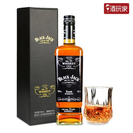 黑杰克 乌克兰威士忌 700ml 58元包邮