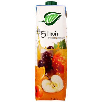¥9.9 浦瑞曼混合100%果汁(5种水果味)