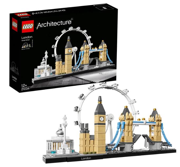 乐高 建筑街景系列 伦敦 21034 329元包邮