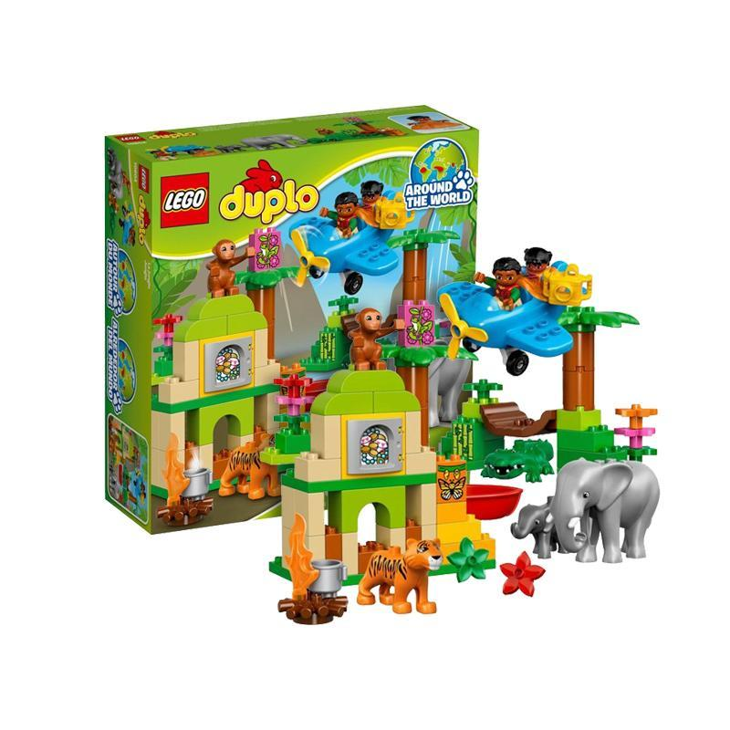 LEGO 乐高 Duplo 得宝系列 10804 丛林动物 *2件 526元(656元,双重优惠)