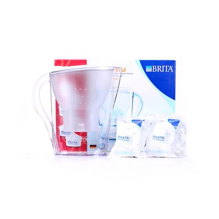 碧然德(BRITA) Marella金典系列 滤水壶2.4L (1壶6芯) ¥199