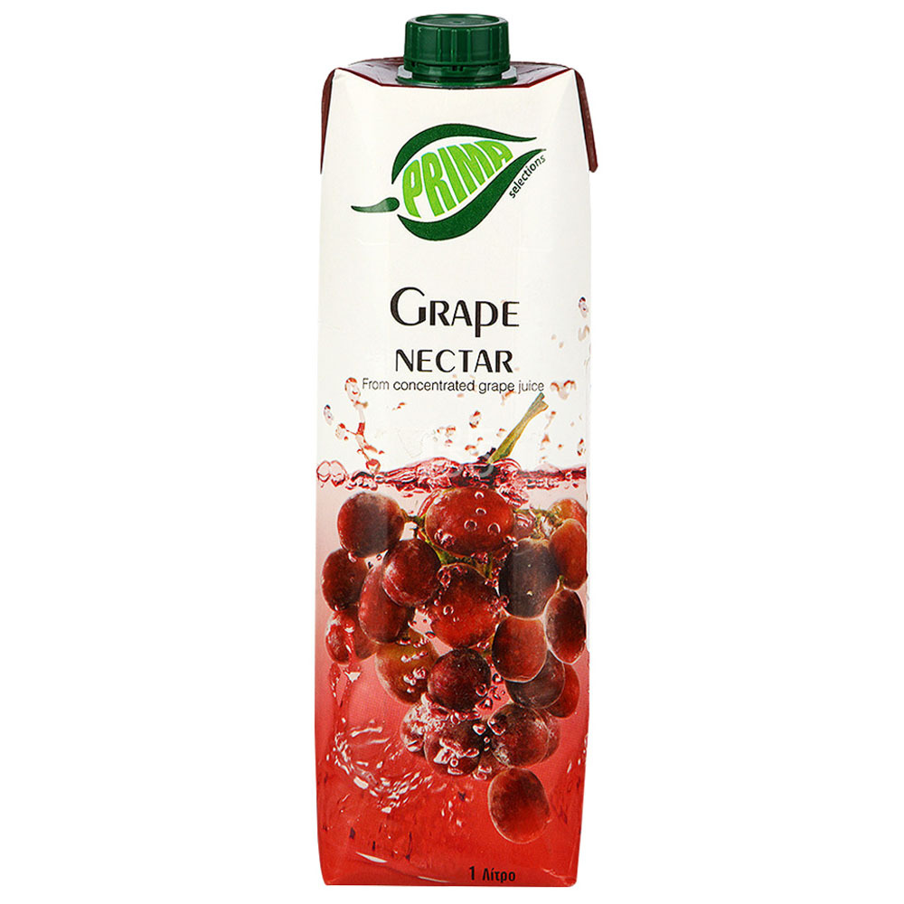 ¥7 【国美自营】塞浦路斯浦瑞曼 PRIMA 葡萄汁饮料1升