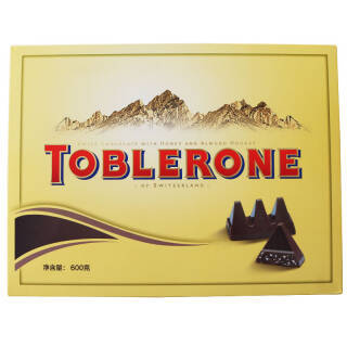 瑞士三角(TOBLERONE) 巧克力 精装礼盒 600g*2件+凑单品 99元