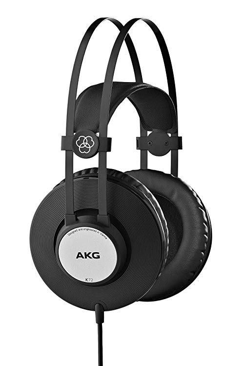 爱科技(AKG) K72 封闭式录音棚监听耳机 299元