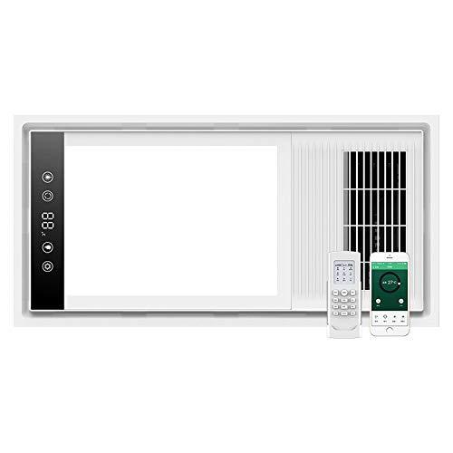NVC 雷士 厨房卫浴空调型风暖多功能五合一浴霸带负离子换气 无线遥控+手机APP智控E-NJ-60LHFCX-71 599元